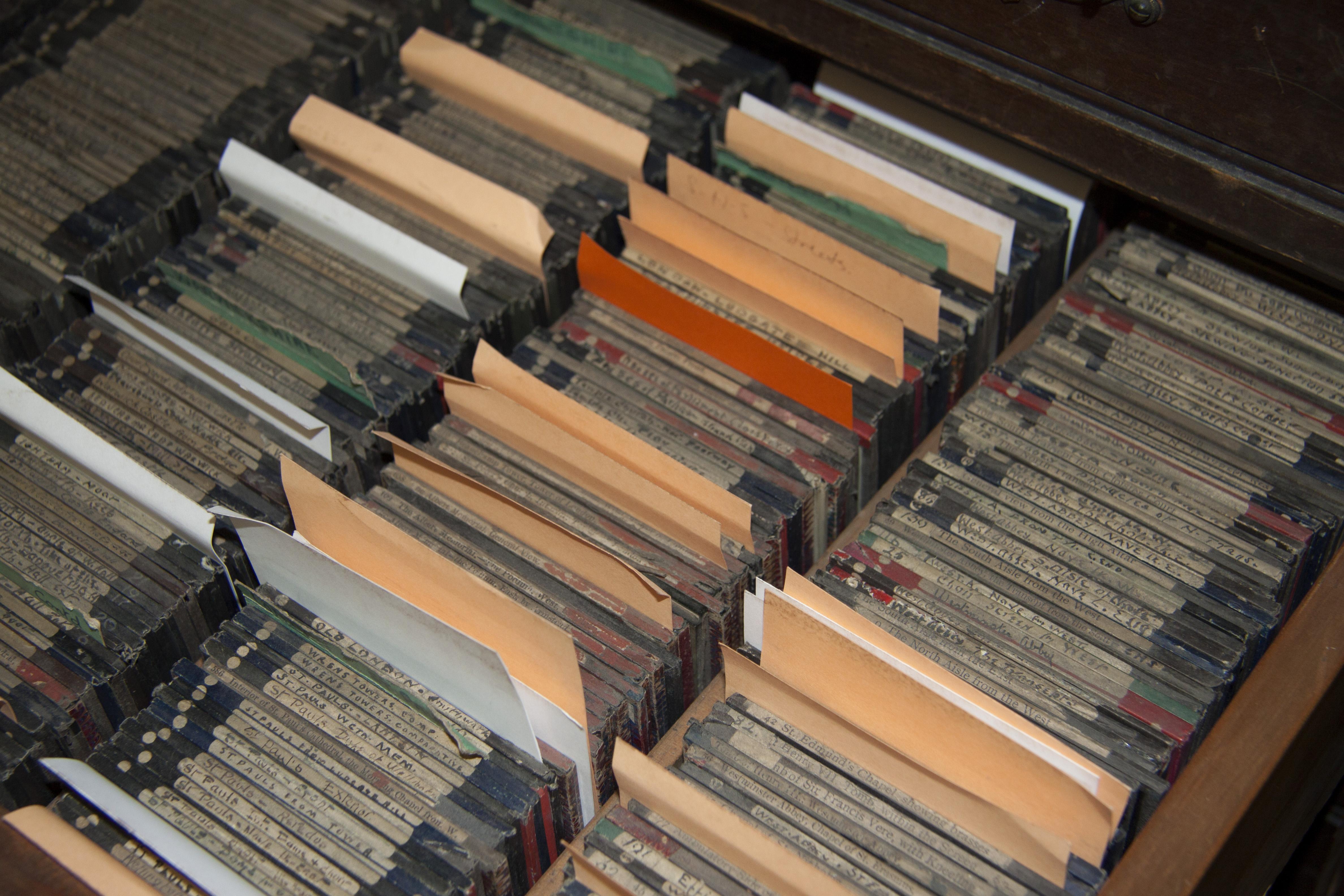 Lantern slide collection